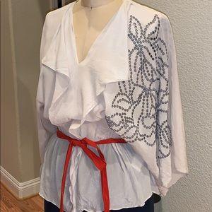 BARASHI kimono style blouse